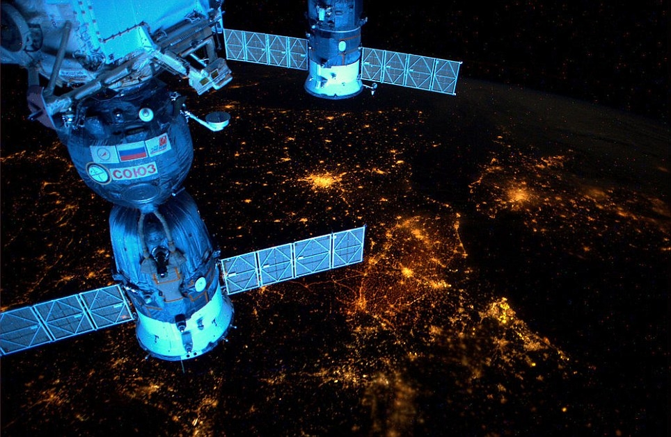 تصاویری جادویی از شبهای زمین
