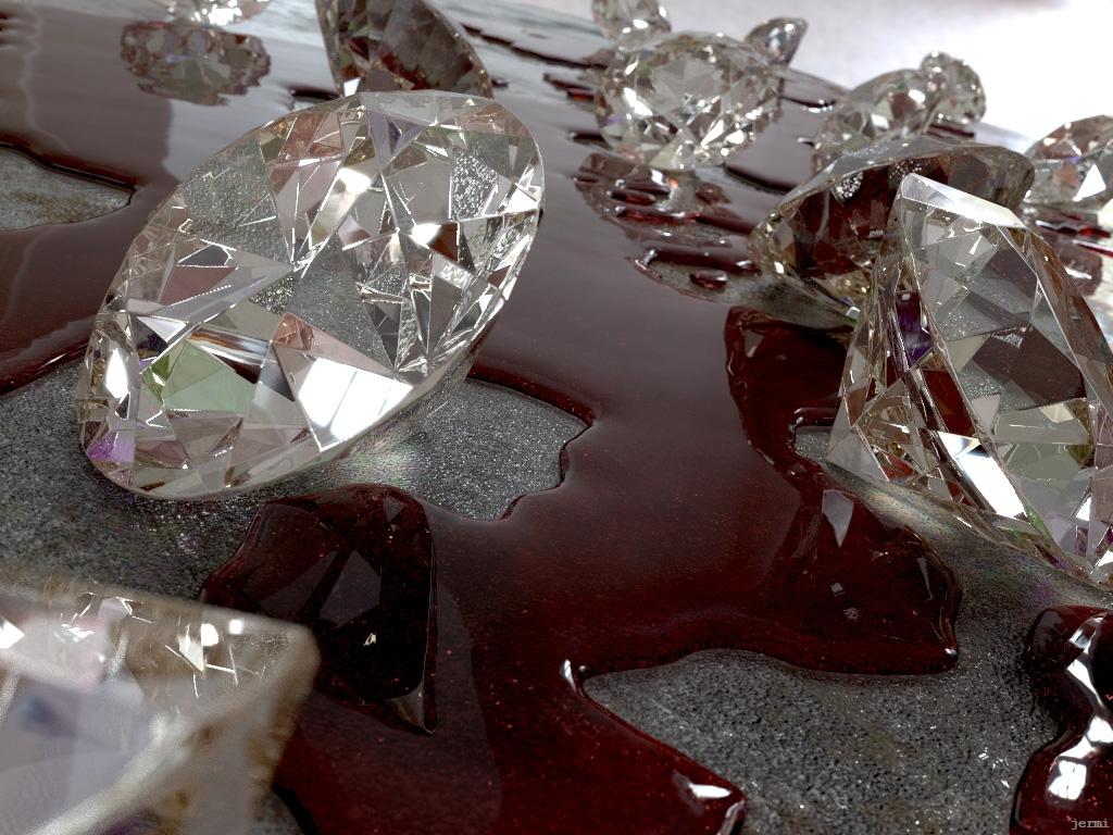 الماسهای خونین