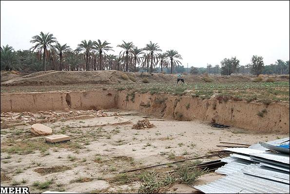 آشنایی با کاخ هخامنشی چرخاب - بوشهر