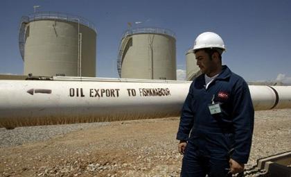 صادرات نفت در کردستان عراق