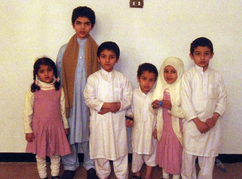 osama family in pakistan
