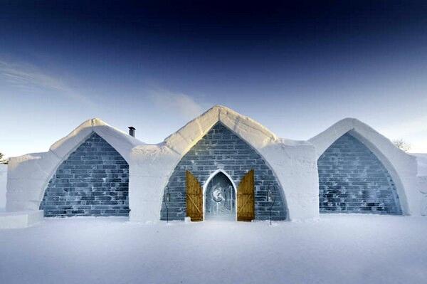 آشنایی با هتل یخی - کانادا
