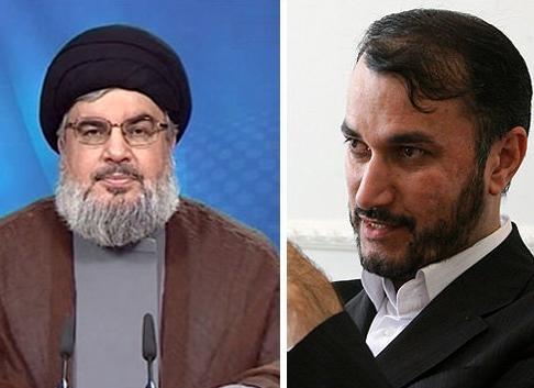 دیدار معاون وزیر خارجه ایران با سید حسن نصرالله