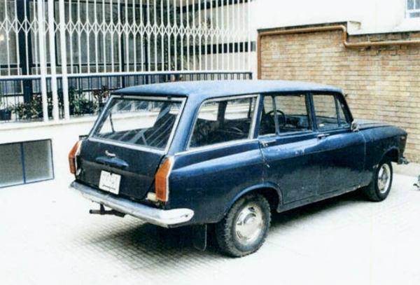 تصاویر خودروی شخصی دکتر علی شریعتی
