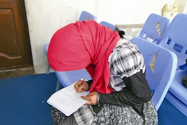 دختر مهاجر افغان