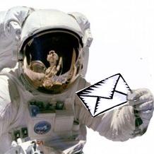 اولین نشانی پستی فضایی