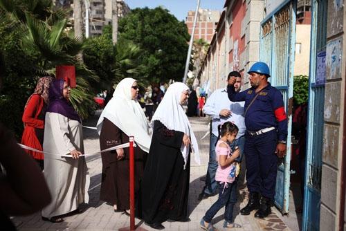 تصاویر اولین انتخابات ریاستجمهوری مصر پس از مبارک
