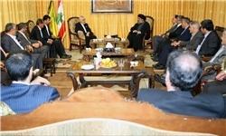 دیدار معاون اول رئیس جمهور با دبیرکل حزب الله لبنان