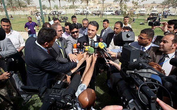 تصاویر حاشیه مذاکرات ایران و 1+5 در بغداد