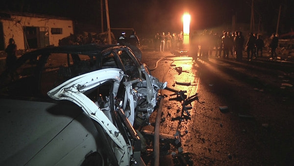 122 کشته و زخمی در انفجار دو  بمب در داغستان روسیه