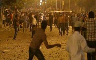 10 کشته و 50 زخمی در درگیری خونین مقابل وزارت دفاع مصر