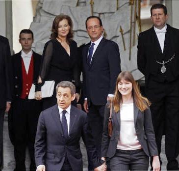فرانسوا اولاند کارخود را به عنوان رئیس جمهور فرانسه آغاز کرد
