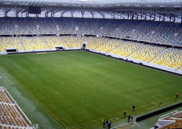 آشنایی با ورزشگاه لفیف آرنا - اوکراین