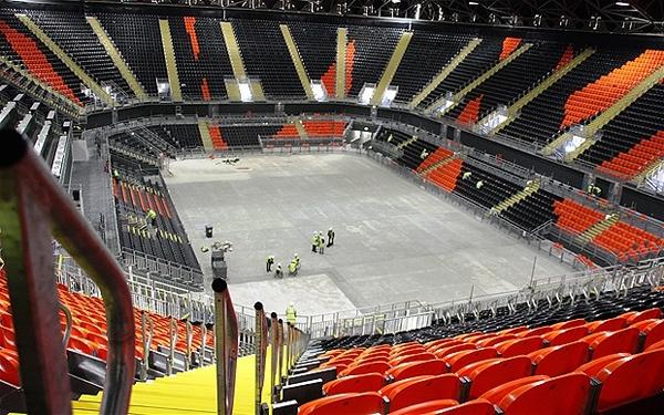 آشنایی با سالن بسکتبال پارک المپیک لندن - بریتانیا
