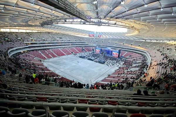 آشنایی با ورزشگاه ملی ورشو - لهستان