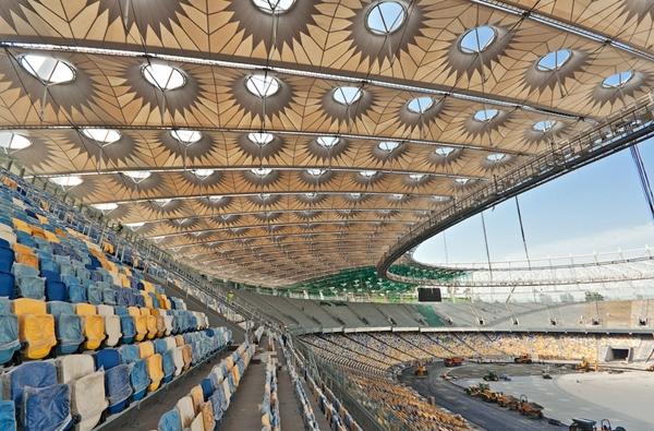 آشنایی با ورزشگاه ملی المپیسکی - اوکراین