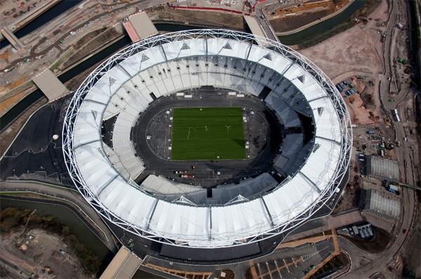 آشنایی با ورزشگاه المپیک لندن - بریتانیا