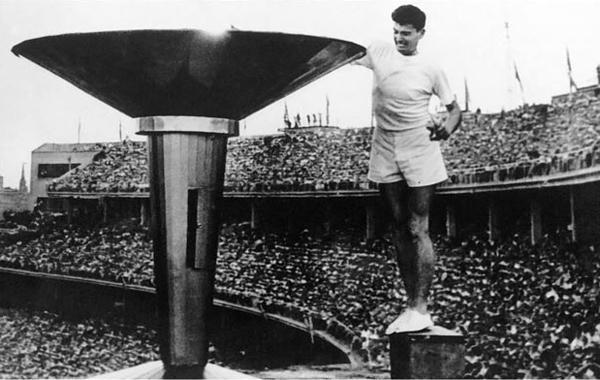 آشنایی با تاریخچه مشعل المپیک