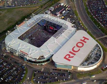 آشنایی با ورزشگاه ریکو آرنا - بریتانیا