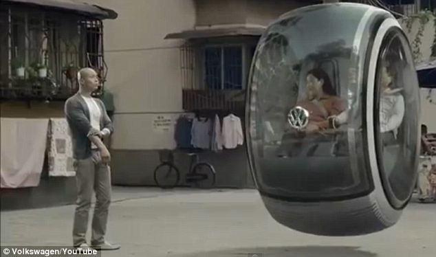 تصاویر خودرو شناور در نمایشگاه چین؛ ایدههای شگفت انگیز