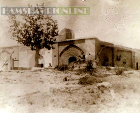 تصاویری از آرامگاه قدیمی بابا طاهر عریان