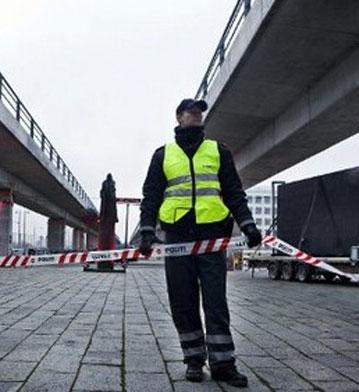 پلیس دانمارک ظاهرا جلوی حمله تروریستی را گرفت