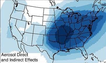چاله گرمایی روی امریکا