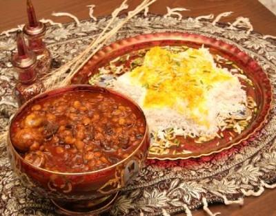 قیمه نخود - غذای محلی یزد