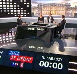 sarkozy hollande debate