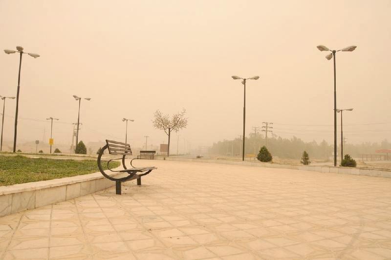 آلودگی هوا- ریزگرد