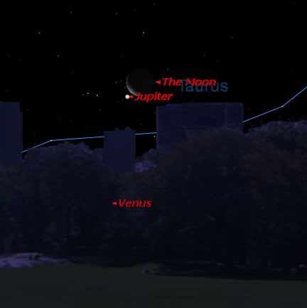 مقارنه سیاره زهره و ستاره دبران