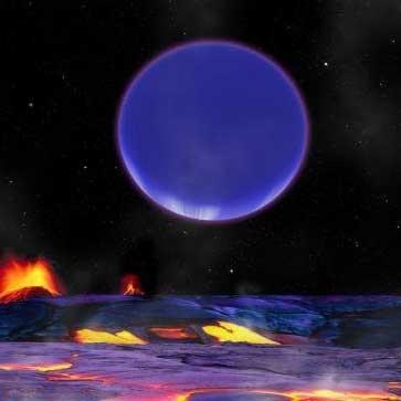 شناسایی یک نمونه بزرگتر از زمین، درون یک مدار جنگی