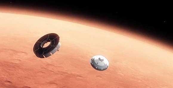 هفت دقیقه هراس تا فرود بر مریخ