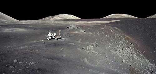 تصویری از آخرین حضور انسان در ماه