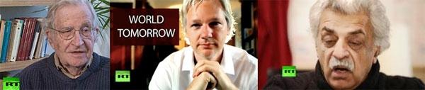 Julian Assange Interviews Noam Chomsky And Tariq Ali On Russia Today