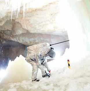 آزمایش تجهیزات مریخنوردی در کوههای آلپ