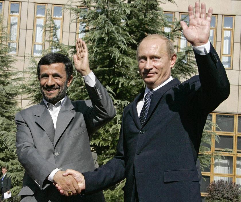 احمدینژاد-پوتین