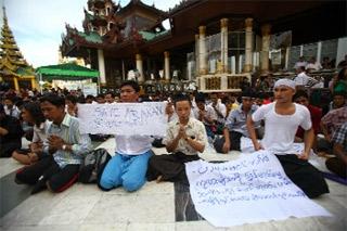 تشدید تدابیر امنیتی در مرز میانمار و بنگلادش