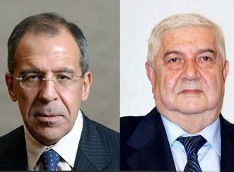 دیدار وزیران خارجه روسیه و سوریه