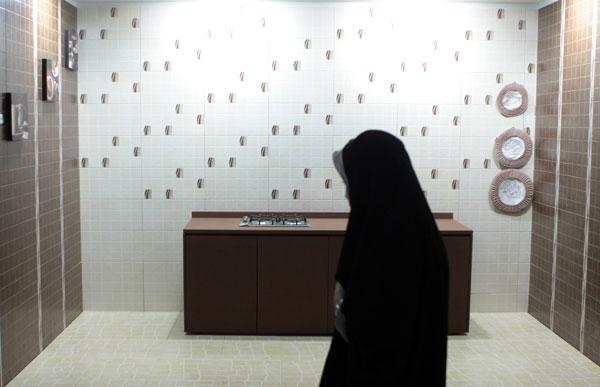گزارش تصویری از بیستمین نمایشگاه بینالمللی کاشی، سرامیک و چینی بهداشتی