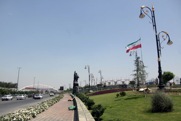 گزارش تصویری از بوستان جوانمردان ایران