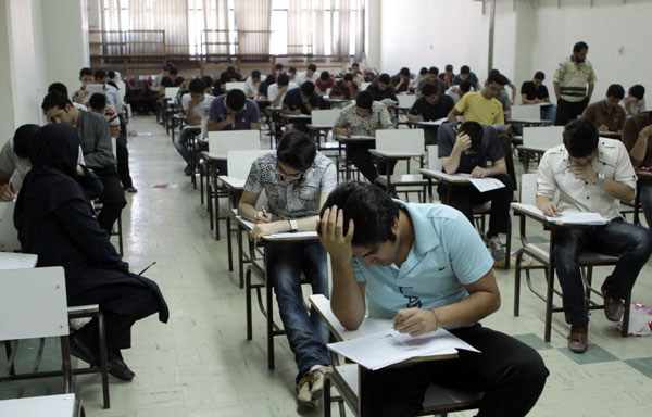 گزارش تصویری از آزمون سراسری؛ ماراتن کنکوریهای  91 تمام شد