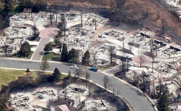 توفان آتشین 36 هزار آمریکایی را فراری داد
