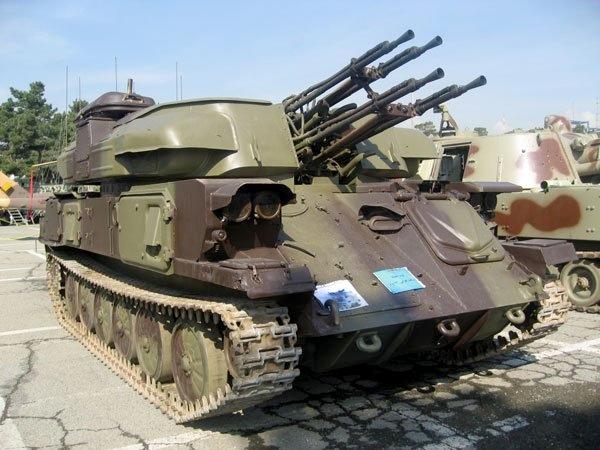سلاحهای پدافند هوایی توپخانهای ایران