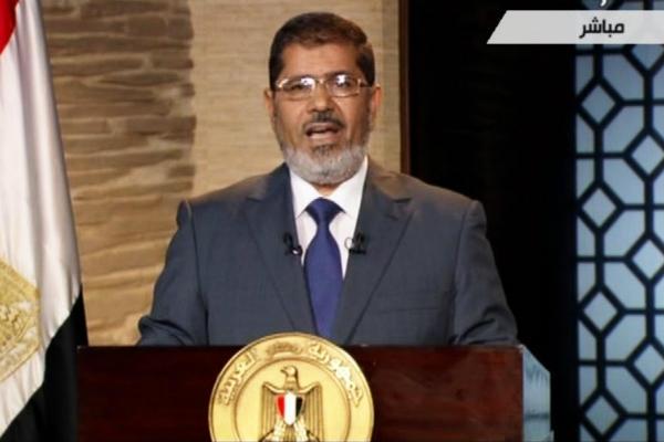 مرسی محمد رئیس جمهور مصر