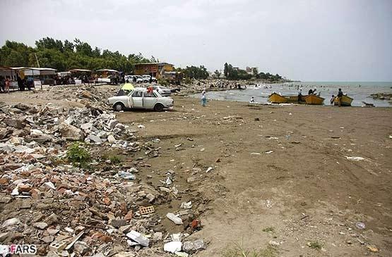 آلودگی دریای خزر