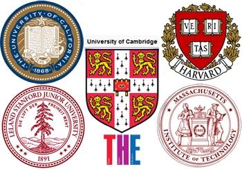 پنج دانشگاه معتبر جهان در سال 2012