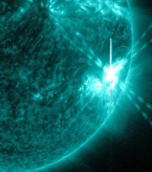 بمباران زمین با قویترین توفان خورشیدی تابستان