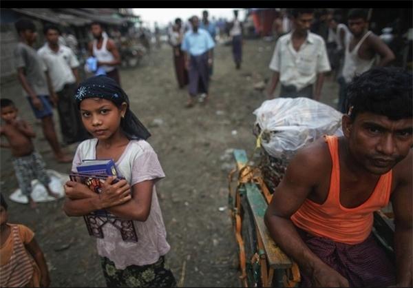 تصاویر تکان دهنده از نسل کشی مسلمانان در میانمار