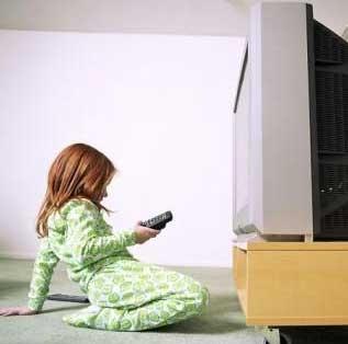 تبعات جسمانی تماشای بیش از حد تلویزیون در کودکان